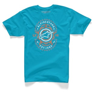 Alpinestars Ratio T-Shirt (Color: Turquoise / Size: 2XL) 1062494