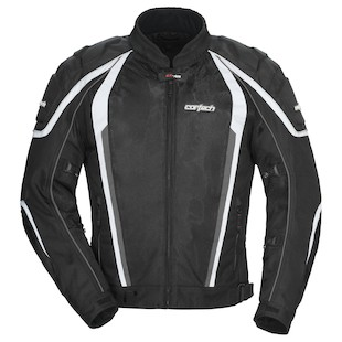 Cortech GX Sport Air 4.0 Jacket (Color: Black / Size: LG (Tall) )