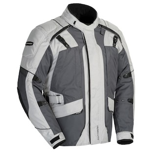 Tour Master Transition 4 Women's Jacket (Color: Light Grey/Gun Metal / Size: SM) 1064343