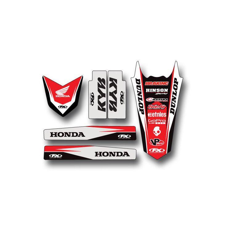 Factory Effex Trim Graphics Kit Honda CRF250R 2004-2009
