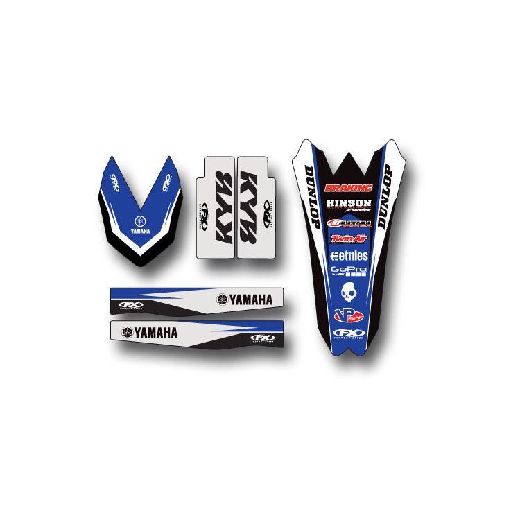 Factory Effex Trim Graphics Kit Yamaha YZ250F / YZ450F 2009