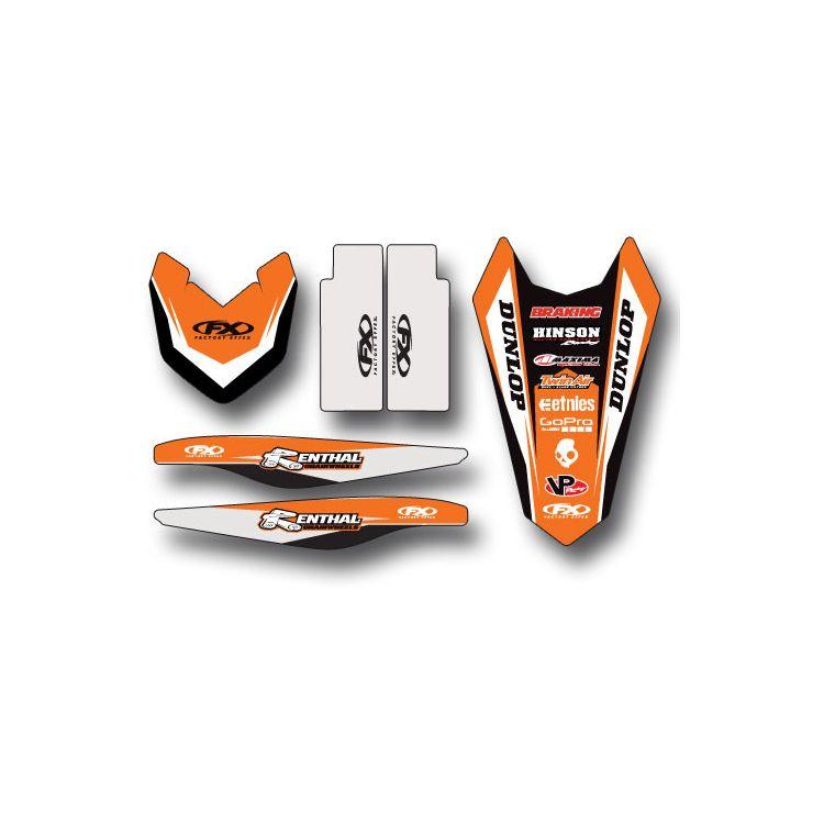 Factory Effex Trim Graphics Kit KTM SX / SX-F 125cc-450cc 2011-2012