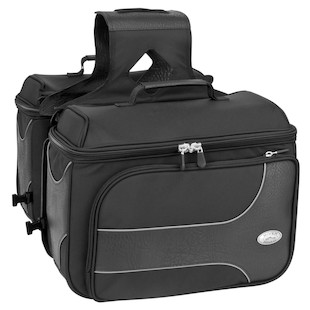 River Road Spectrum Box Saddlebags (Color: Black / Size: LG) 1064963