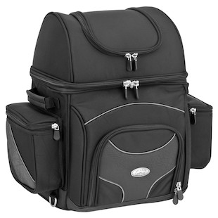 River Road Spectrum Sissy Bar Bag (Color: Black / Size: LG) 746389