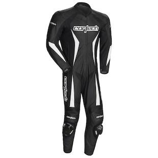 Cortech Latigo RR 2.0 1-Piece Race Suit (Color: Black / Size: MD) 1065051