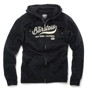 100 Barstow Fleece Zip Hoody (Color: Black / Size: XL) 1066877