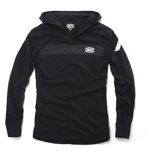 100 Gravel Fleece Pull-Over Hoody (Color: Black / Size: LG) 1066866