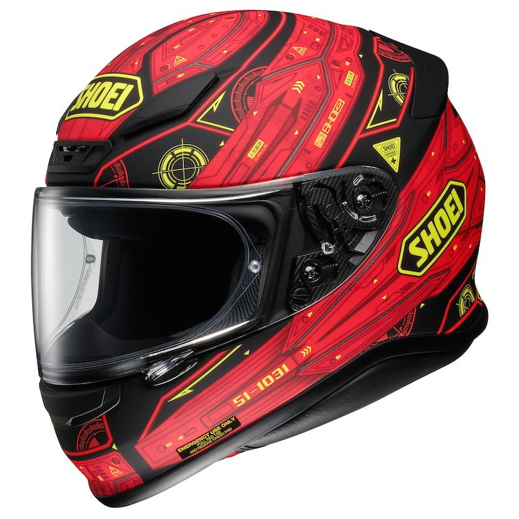 Matte Black/Red/Yellow