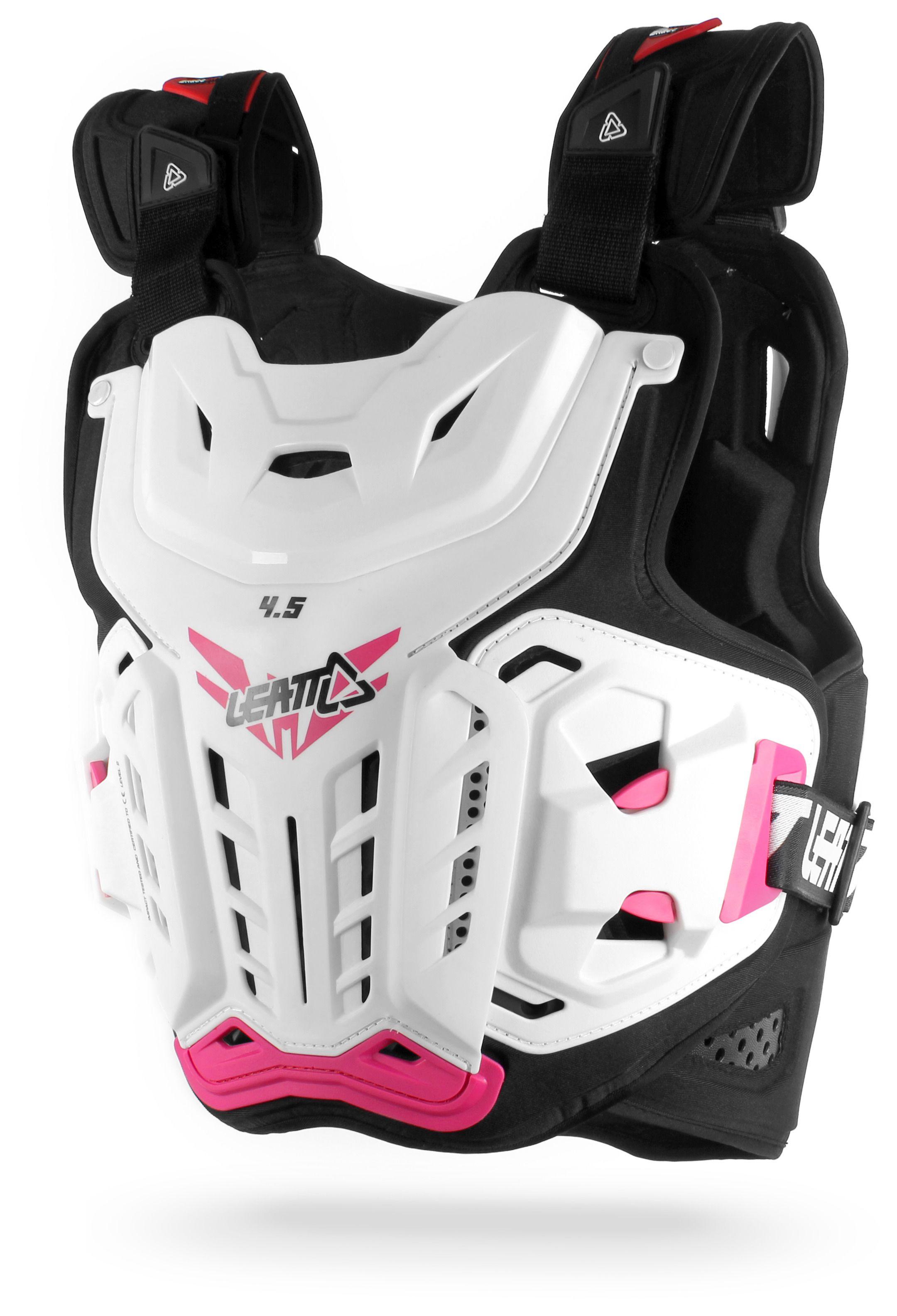 Pro Taper Handlebars >> Leatt 4.5 Jacki Chest Protector / Women's - Cycle Gear