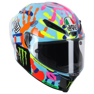 AGV Corsa Rossi Misano 2014 LE Helmet (Size 2XL Only) (Color: Multi / Size: 2XL) 999448