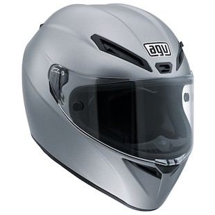 AGV GT Veloce Helmet - Solid (Color: Matte Grey / Size: SM) 1069991