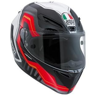 AGV GT Veloce Izoard Helmet (Color: Black/White/Red / Size: SM) 1069984