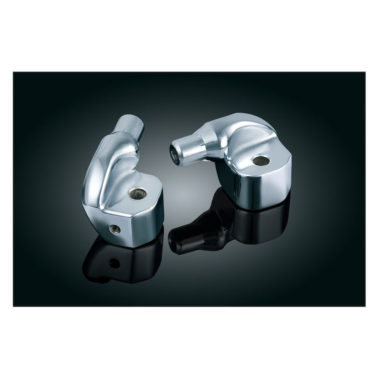 Kuryakyn Rear Tapered Foot Peg Adapters Can-Am Spyder RS / GS