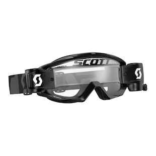 Scott Tyrant Goggles With Film System (Color: Black / Lens: Clear) 1071927