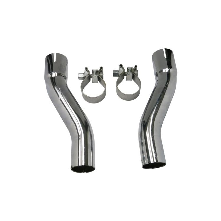 Bassani Exhaust Tri-Glide Adapter Kit For Harley Trike 2009-2016