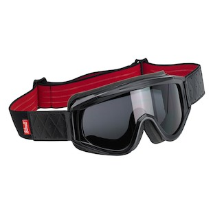 Biltwell Overland Goggles (Color: Black/Red) 1075528