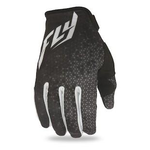 Fly Racing Lite Gloves (Color: Black/Grey / Size: LG) 1080938