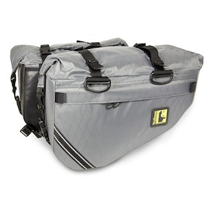 Wolfman Skyline Saddle Bags (Color: Grey) 1080001