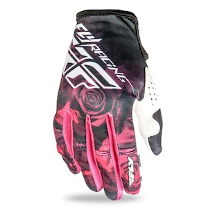 Fly Racing Kinetic Women's Gloves (Color: Pink/Black / Size: LG) 1081094