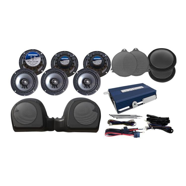 Hogtunes 6 Speaker And Amp Kit For Harley Ultra 2014-2020