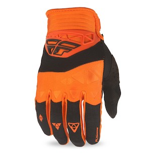 Fly Racing Youth F-16 Gloves (Color: Red/Black / Size: LG) 1224925
