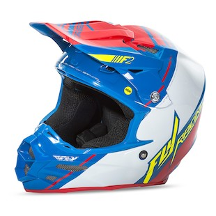 Fly Racing F2 Carbon MIPS Trey Canard Replica Helmet (Color: Blue/White/Red / Size: XS) 1081498