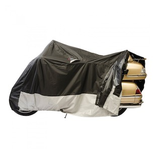 Dowco Guardian Weatherall Plus EZ Zip Motorcycle Cover (Color: Black / Size: 2XL) 258941