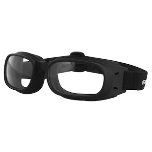 Bobster Piston Goggles (Color: Black / Lens: Clear) 443149