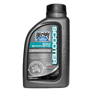 Bel-Ray Scooter Semi-Synthetic 2T Engine Oil (Size: 1 Liter) 776025