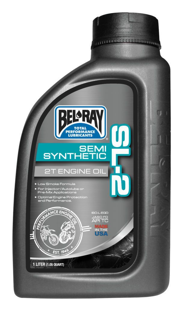 Pro Taper Handlebars >> Bel-Ray SL-2 Semi-Synthetic 2T Engine Oil - Cycle Gear