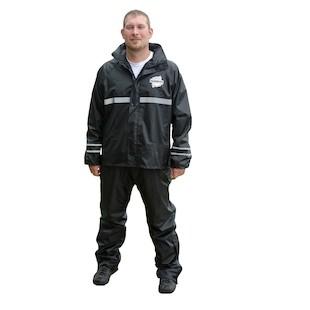 Dowco Guardian Deluxe Rain Suit (Color: Black / Size: XL) 1083673