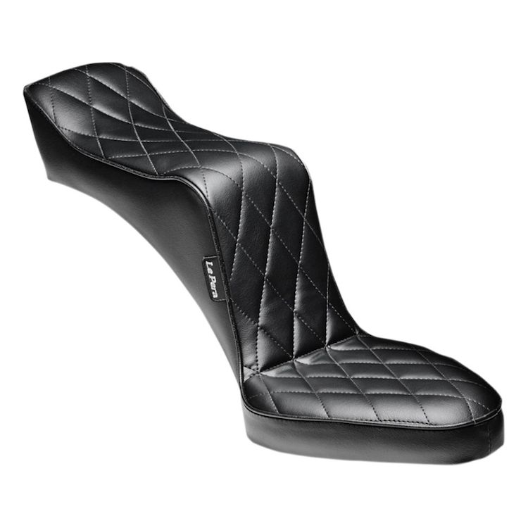 Le Pera Baron II 2-Up Seat For Harley Rigid