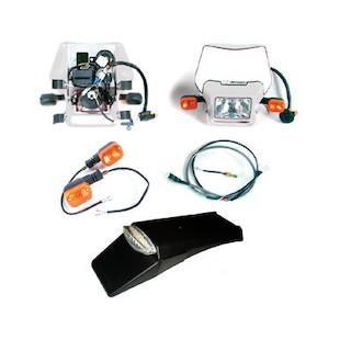 Baja Designs EZ Mount Dual Sport Kit Honda / Yamaha / Suzuki / Kawasaki / KTM / Husqvarna (Color: White) 1083887