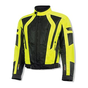 Olympia Airglide 5 Jacket (Color: Neon Yellow/Black / Size: 3XL) 1084812