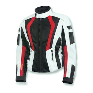 Olympia Airglide 5 Women's Jacket (Color: Ivory/Black/Red / Size: 2XL) 1084870
