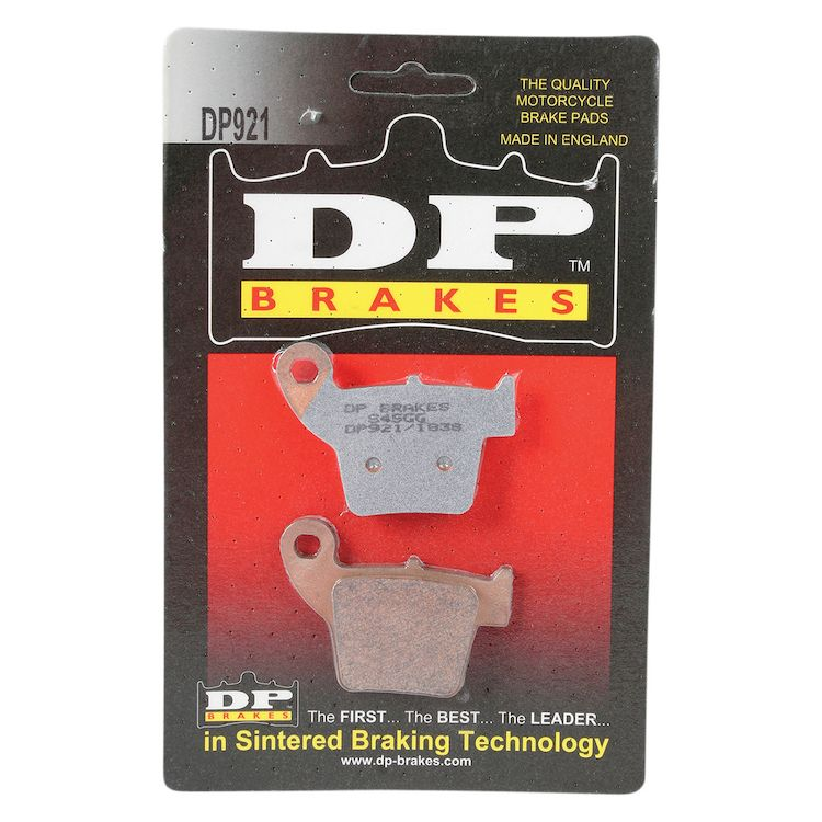 DP Brakes Sintered Rear Brake Pads