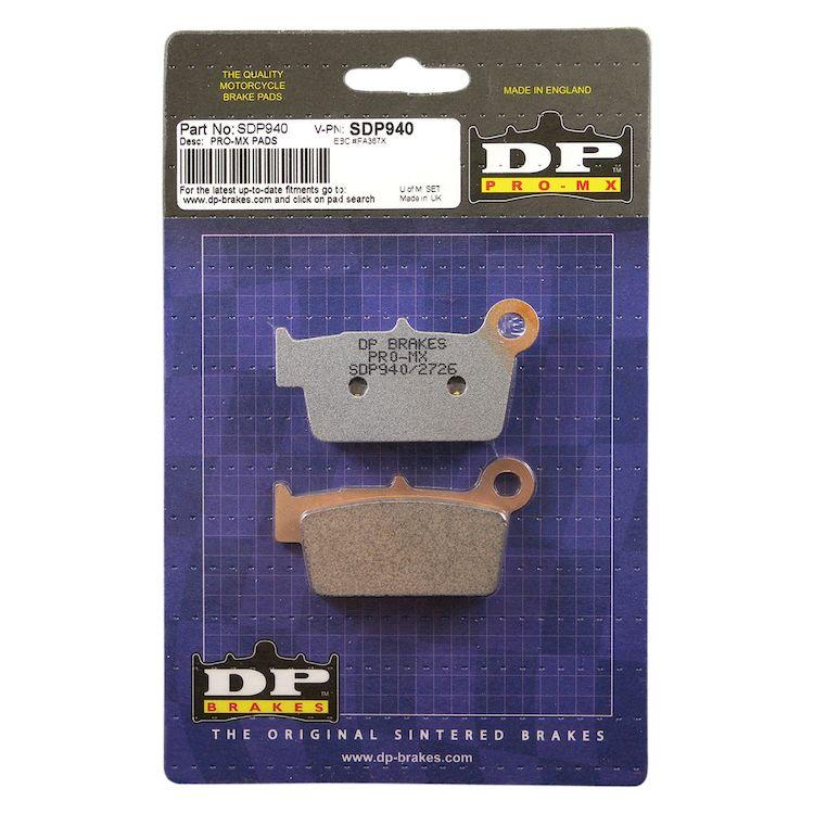DP Brakes Pro MX Rear Brake Pads Yamaha / Suzuki / Kawasaki / Gas Gas 125cc-450cc