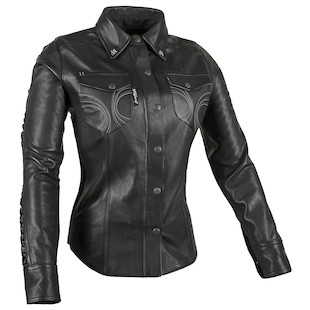 Speed and Strength Black Heart Moto Women's Shirt (Color: Black / Size: WLG) 1086131