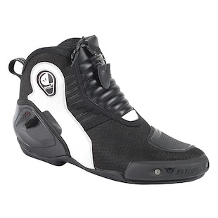 Dainese Dyno D1 Women's Shoes (Color: Black/White/Anthracite / Size: 40) 1042655