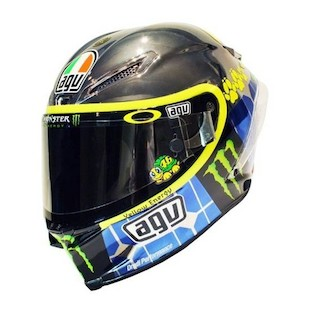 AGV Corsa Rossi Mugello 2015 Helmet (Color: Silver/Yellow / Size: 2XL) 1086283