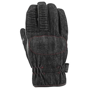 Speed and Strength Gridlock Denim Gloves (Color: Black / Size: XL) 1086329