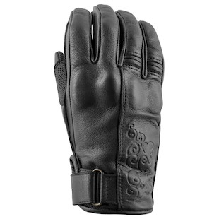 Speed and Strength Black Heart Women's Gloves (Color: Black / Size: WSM) 1086346