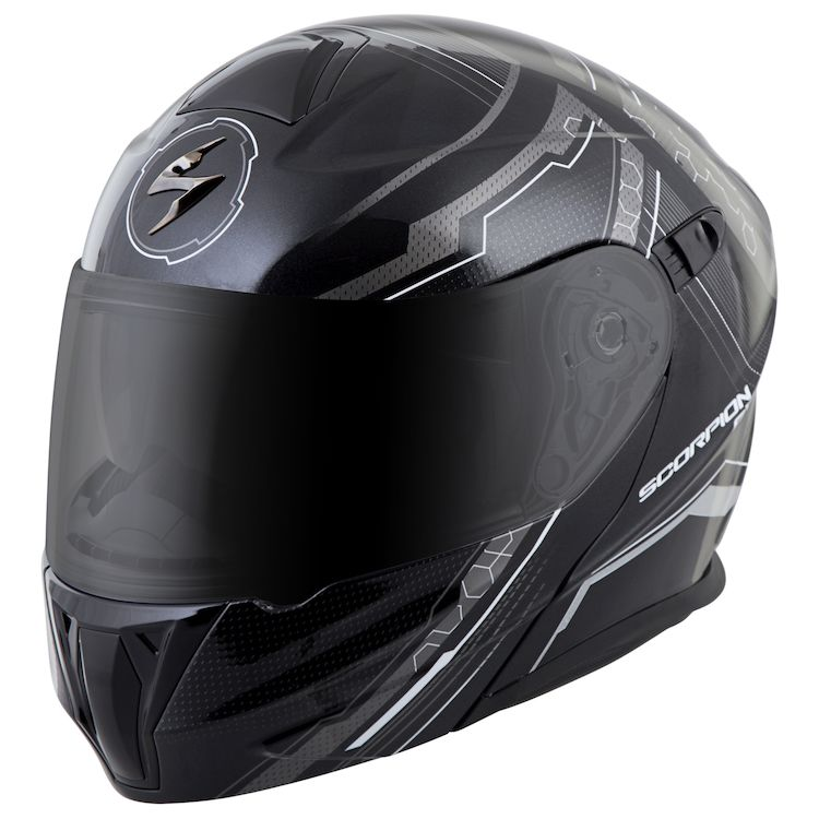 scorpion exo gt920 satellite helmet cycle gear. Black Bedroom Furniture Sets. Home Design Ideas