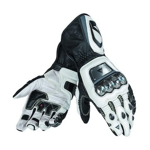 Dainese Full Metal D1 Gloves (Color: Black/White/Anthracite / Size: MD) 994043