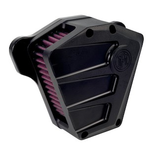 Performance Machine Scallop Air Cleaner Intake For Harley Big Twin 1993-2017 (Finish: Black Ops) 957612
