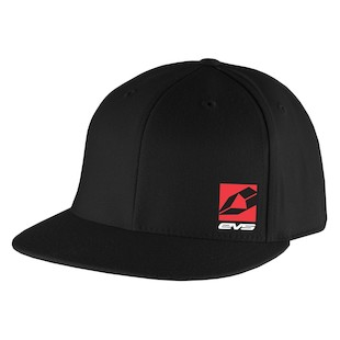 EVS Icon FlexFit Hat (Color: Black / Size: SM-MD) 1090072