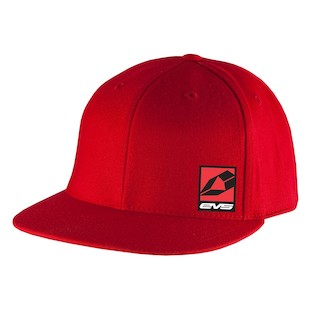 EVS Icon FlexFit Hat (Color: Red / Size: LG-XL) 1090075
