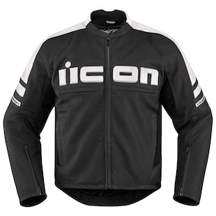Icon Motorhead 2 Jacket (Color: White / Size: SM) 1090776
