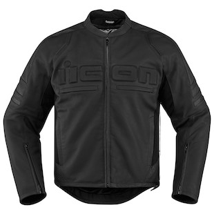 Icon Motorhead 2 Jacket (Color: Stealth Black / Size: 4XL) 1090754