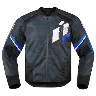 Icon Overlord Primary Jacket (Color: Blue / Size: LG) 1090819